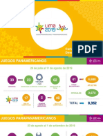 Juegos Panamericanos.