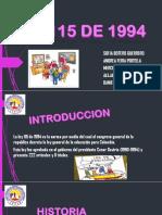 Promocion Social Noche Ley 115 Del 94
