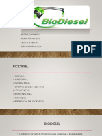 Projeto de Industria de Biodiesel