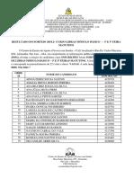 Resultado Do Sorteio 2019.2- Curso Módulo Básico – 3ª e 5ª Feira Matutino