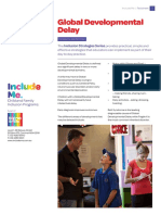 Fact Sheet Global Developmental Delay