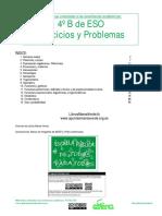 Marea Verde. Ejercicios y Problemas 4b 2015