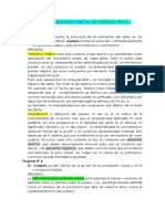 Resolucion Del Segundo Parcial de Derecho Penal i