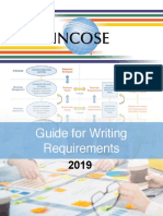 Guide for Writing Requirements