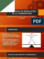 Mecanismos de Regulación de La Temperatura