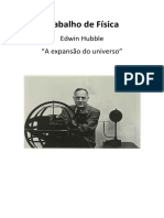 "Edwin Hubble - ""A expansão do universo"""