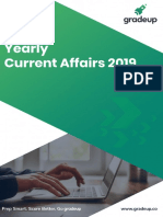 Yearly Current Affairs 2019-18