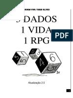 3 Dados 1 Vida 1 RPG - Módulo Básico 2.0