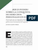 Derechos individuales en España (Ugarte Pérez)