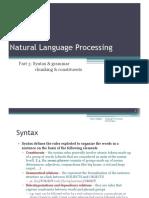 07 - NLP - Syntax