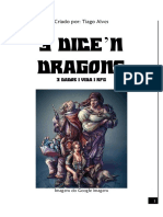 3 Dados 1 Vida 1 Rpg - 3 Dice n Dragons