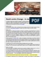 David Contre Orange