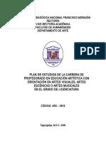 1.Plan de Estudios- Carrera Arte- Jn-2009- Vracd.