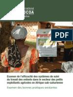 Examen de l'Efficacité Des Systèmes de Suivi Du Tavail Des Enfants en Afrique Sub-saharienne