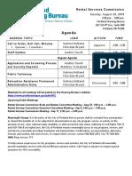 8.20.19 RSC Meeting Agenda