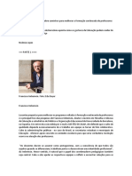 FORMAÇ CONTINUADA Prof Francisco Imbernon