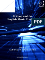 Britpop and English Music Tradition