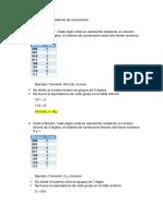 Conversiones Entre Sistemas de Numeración