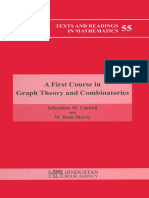 (Texts and Readings in Mathematics 55) Sebastian M. Cioabă, M. Ram Murty (auth.) - A First Course in Graph Theory and Combinatorics-Hindustan Book Agency (2009)