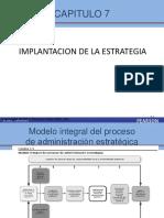 Presentacion 7 Implantacion de Estrategia