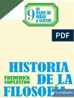 De Maine de Biran a Sartre - Frederick charles Copleston.pdf