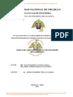 Calificación de procedimientos, Castillo Vilela