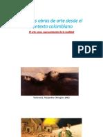 Algunas Obras de Arte Desde El Contexto Colombiano