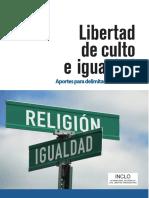Libertad de Culto e Igualdad