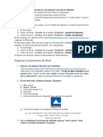 1. Evaluacion General de Conocimientos de Word y Excel