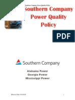 SoCo Power Quality Policy