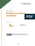 MANUAL DE GOOGLE AVANZADO