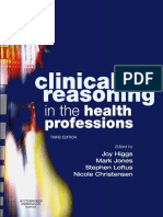 Clinical Reasoning in the Health Professions 2008