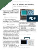 Informe-2  Equipos de Radiofrecuencia y Ruido