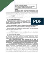 Especificaciones Tecnicas Drenaje Canada