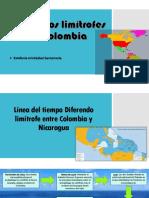 Línea Del Tiempo--Fronteras de Colombia
