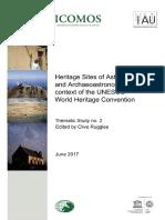 Heritage Sites Astronomy