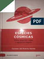 Especies Cosmicas