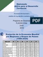 Escenario Internacional y Cambios de La Geografía Económica Global Junio2018