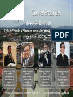 Conferência de Aniversário
