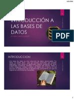 Introducción a Las Bases de Datos1