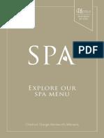 Chesford Spa Brochure