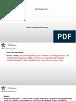 8. Modelo Presentación Pitch de Emprendimiento DISCOTECA