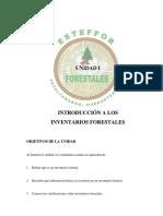 INTRODUCCIÓN A LOS INVENTARIOS FORESTALES