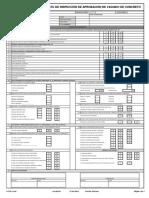 GT-PR-VC-01 Ver 00 Formato de Inspección de Vaciado de Concreto