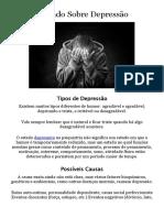 Tipos de Depressão PDF