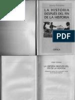 Josep-Fontana. La Historia