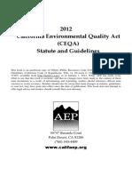 CEQA Handbook 2012 Wo Covers
