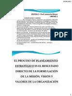 Unidad 1a - Planeamiento - Presupuestos Operativos