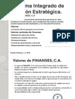 Plan Estrategico Finanses, c.a.