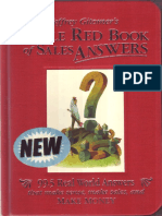 Little Red Book of Sales Answers - Jeffrey Gitomer